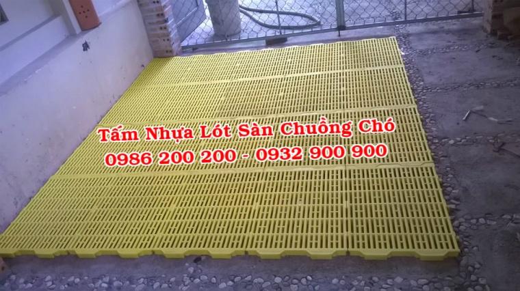 HCM-VT : Bán tấm nhựa lót sàn chuồng chó, mèo, heo, dê - 0986200200 - 7